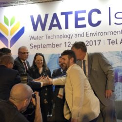 Panelists at the WATEC 2017